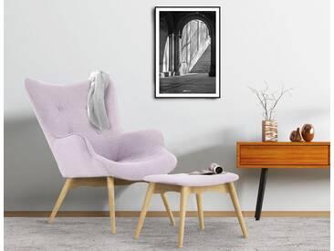 Home affaire Sessel »Ducon« mit und ohne Hocker, rosa, Sessel incl. Hocker, rosé