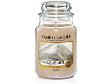 Yankee Candle Duftkerze »Classic Housewarmer Groß Warm Cashmere«