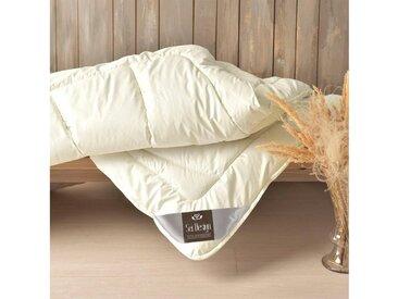 SEI Design Naturfaserbettdecke, »WOOL Premium«, extrawarm, Füllung: 100% echter naturbelassener Schurwolle, Bezug: 100% Baumwolle, (1-tlg)