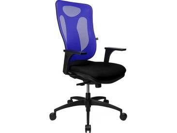 TOPSTAR Bürostuhl »Net Pro 100«, schwarz, schwarz/dunkelblau