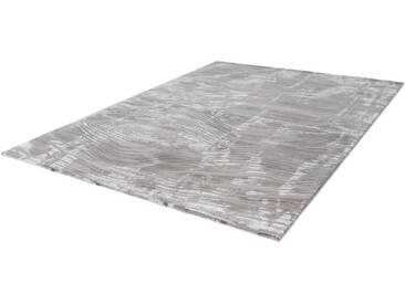 LALEE Teppich »Aleyna 604«, rechteckig, Höhe 14 mm, silberfarben, 14 mm, silberfarben