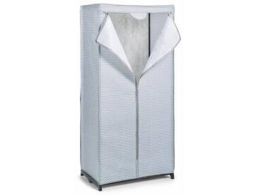 Zeller Present Zeller Textil-Schrank, Vlies/Metall, weiß/grau 75x50x160, weiß, weiß/grau