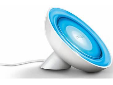 Philips Hue LED Tischleuchte »LivingColors Bloom«, 1-flammig, smartes LED-Lichtsystem mit App-Steuerung, weiß, 1 -flg. /, weiß