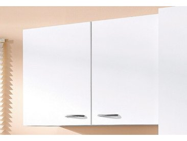 wiho Küchen Hängeschrank »Kiel« 100 cm breit, weiß, Weiß/Weiß