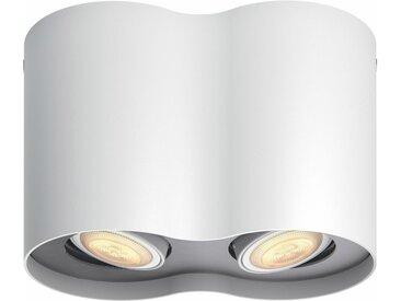 Philips Hue LED Deckenspot »Pillar«, 2-flammig, Smart Home, weiß, 2 -flg. /, weiß