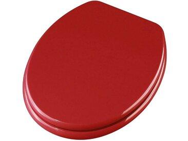 ADOB WC-Sitz »Ascoli«, rot, dunkelrot