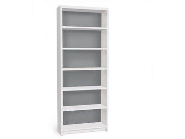 Bilderwelten Möbelfolie für IKEA Billy Regal »Colour Cool Grey«, bunt, Farbig