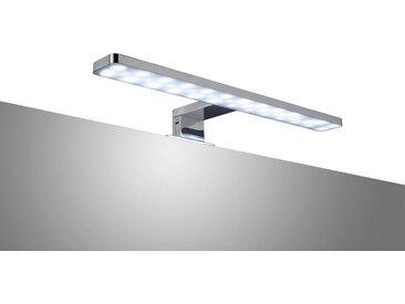 ADOB LED-Aufsatzleuchte »Spiegelleuchte«, 38 cm, silberfarben, eckig, silberfarben