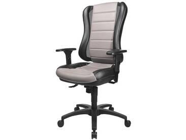 TOPSTAR Bürostuhl ohne Armlehnen »Headpoint RS«, schwarz/grau