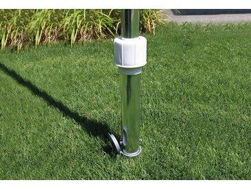 Schneider Schirme SCHNEIDER SCHIRME Bodenhülse für Schirmstöcke bis Ø 50 mm, silberfarben, silberfarben