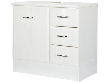 HELD MÖBEL Held Möbel Waschbeckenunterschrank »Rallye«, Breite 60 cm, weiß, weiß