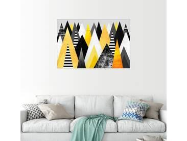 Posterlounge Wandbild - Elisabeth Fredriksson »Gelbe Gipfel«, bunt, Alu-Dibond, 150 x 100 cm, bunt
