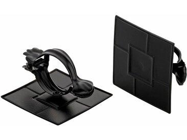 Good Life Dekoklammer »Quadrat«, Vorhänge, (1-tlg), für Stoffe und Vorhänge, schwarz, schwarz
