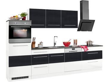 HELD MÖBEL Küchenzeile »Trient«, ohne E-Geräte, Breite 300 cm, grau, anthrazit