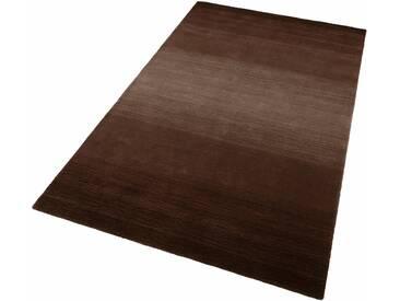 THEKO Teppich »Wool Comfort«, rechteckig, Höhe 15 mm, Wolle, braun, 15 mm, braun