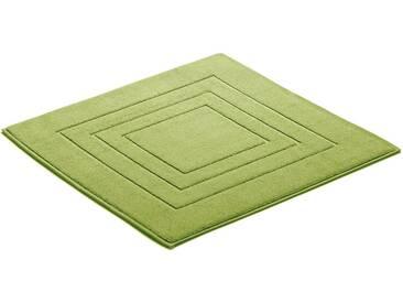 Vossen Badematte »Feeling« , Höhe 10 mm, fußbodenheizungsgeeignet, grün, 10 mm, smokegreen