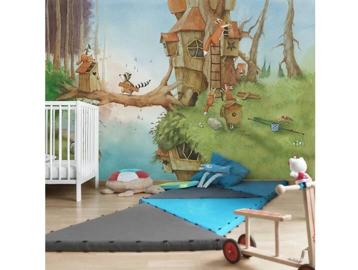 Bilderwelten Kinderzimmer Vliestapete Breit »Wa...