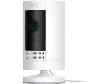 Ring »Stick Up Cam Plugin - White - EU« Smart Home Kamera (Außenbereich, Innenbereich)