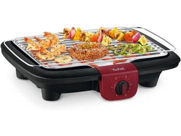 Tefal Tischgrill BG90E5 Easygrill Adjust, 2300 W, schwarz-rot
