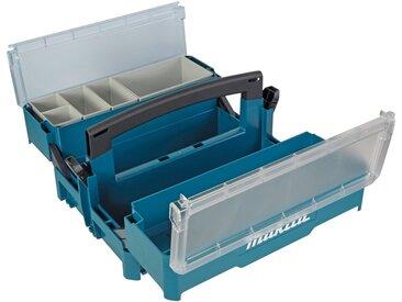 Makita MAKITA Werkzeugkoffer »P-84137«, leer, 395 x 295 x 233 mm, blau, blau