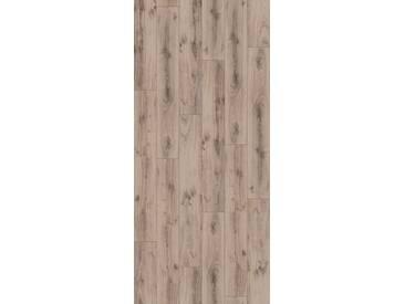 PARADOR Laminat »Classic 1050 - Eiche Tradition Grau-beige«, 1285 x 194 mm, Stärke: 8 mm, grau, grau