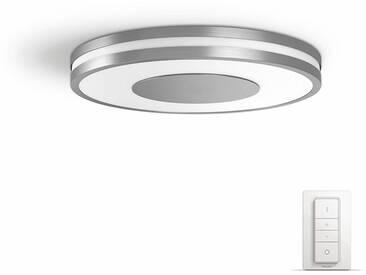 Philips Hue LED Deckenleuchte »Being«, Smart Home, silberfarben, silberfarben