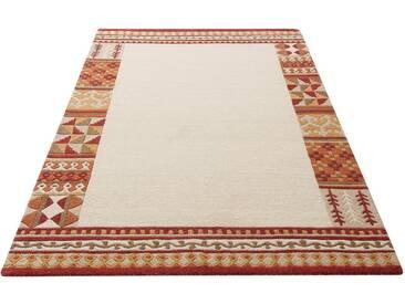 Theko Exklusiv Teppich »Nuno«, rechteckig, Höhe 14 mm, natur, 14 mm, beige