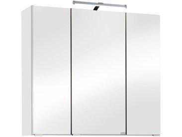 HELD MÖBEL Spiegelschrank »Texas«, Breite 70 cm, weiß, weiß