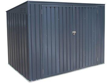 Globel Industries 50NRTH Mülltonnenbox für 3 x 240 l, grau, anthrazit
