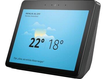 Echo Show 2. Generation Stereo Smart-Speaker (WLAN (WiFi), Bluetooth, Mikrofon, Alexa-Sprachsteuerung, mit Bildschirm), schwarz, schwarz