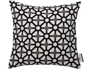 Tom Tailor Kissenhüllen »Combinend«, schwarz, Baumwolle-Polyester, schwarz