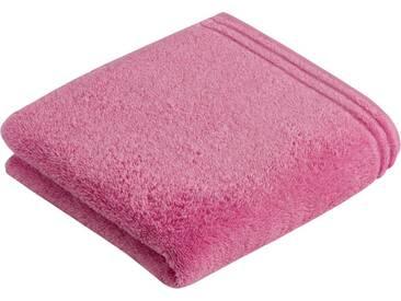 Vossen Handtücher »Calypso«, mit schmaler Bordüre, rosa, Walkfrottee, pretty pink