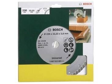 BOSCH Bosch Diamanttrennscheibe »Turbo, von Bosch Ø 230 mm«, grün, grün