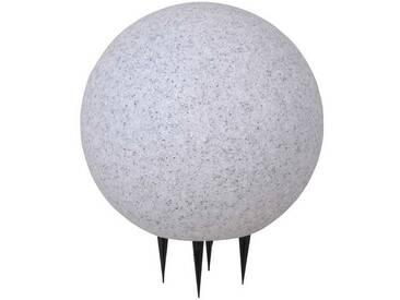 Leuchten Direkt Gartenleuchte »FADIA«, 1-flammig, weiß, 1 -flg. / Ø30 cm, weiß-schwarz