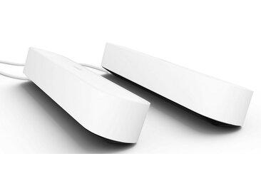 Philips Hue LED Tischleuchte »HUE PLAY«, 2-flammig, LED Play Lightbar - Doppelpack, weiß, 2 -flg. /, weiß-schwarz