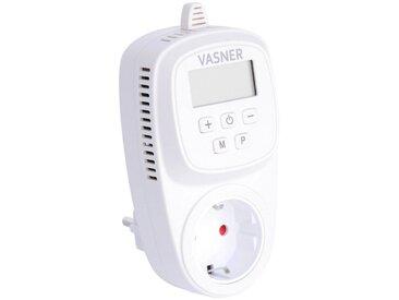 Vasner Thermostat »VUT35«, für Infrarotheizung, Steckdosenthermostat, programmierbar, weiß, weiß