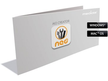 Mediola Smart Home - AIO CREATOR NEO Skin Plugin »Icon Set NEOtronic - ISN-5010«, weiß, transparent