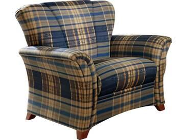FROMMHOLZ® Sessel »Verona« im klassisch zeitlosem Design, blau, blau