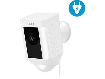 Ring »Spotlight (Kabel)« Überwachungskamera (Außenbereich), weiß, weiß