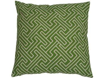 GO-DE Zierkissen »Klara «, (L/B): ca. 48x48 cm, grün, 1 Auflage, grün