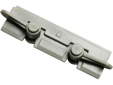 GARDINIA Gardinenschiene »»Vorhangschiene Flexline Komplett-Set«, kürzbar«, kürzbar, grau, grau