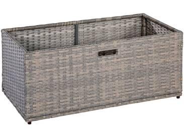 MERXX Kissenbox »Unterschiebbox groß«, Stahl/Kunststoff, 95x40x49 cm, natur, natur