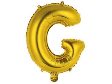BUTLERS UPPER CLASS »Folienballon G«, gold, Breite 35,5 x Tiefe 45,5