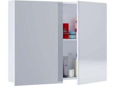 VCM Spiegelschrank Tenas, Breite 80 cm Weiß