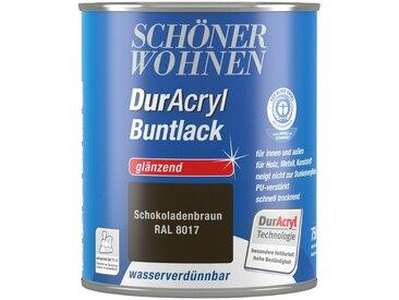 SCHÖNER WOHNEN-Kollektion Schöner Wohnen Farbe Buntlack »DurAcryl hochglänzend, 750 ml schokobraun«, braun, braun