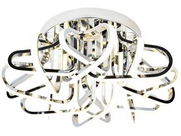 AEG Kevina LED Deckenleuchte 60cm chrom, silberfarben, chrom