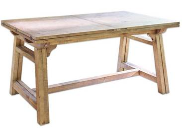 Loberon Tisch »Jacksonville«, braun, antikbraun