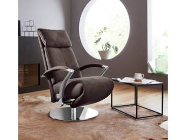 W.SCHILLIG Relaxsessel »kronos« mit Drehteller, braun, espresso S37