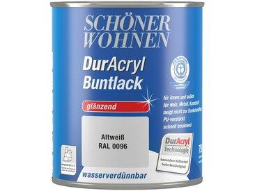 SCHÖNER WOHNEN-Kollektion Schöner Wohnen Farbe Buntlack »DurAcryl hochglänzend, 750 ml altweiß«, weiß, weiß