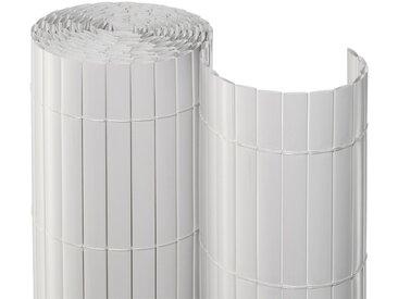 NOOR Balkonsichtschutz BxH: 3x2 Meter, weiß, 300 cm, weiß